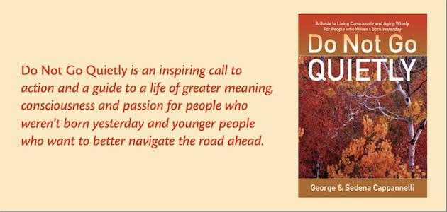 Do Not Go Quietly Book
